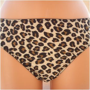 Hunkemoller Triple liquid animal string kelnaitės